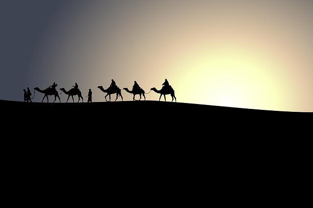 Naher Osten mit dem Rucksack