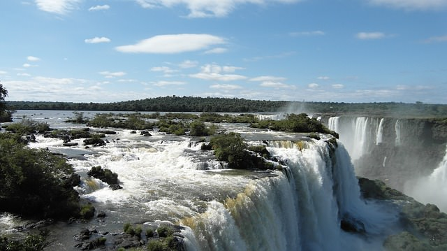 Backpacking in Argentinien foz do iguacu