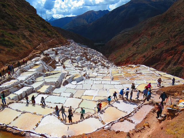 Backpacking in Peru - Reisfelder