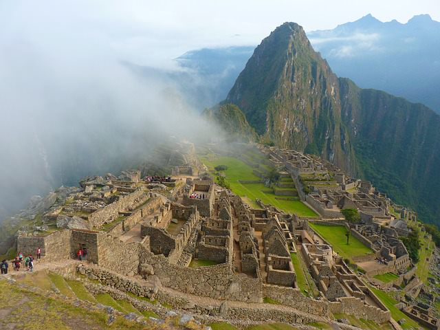 Backpacking in Peru - machu picchu