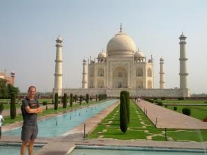 Backpacking in Indien