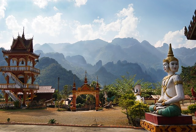 Backpacking in Laos - Landschaft und Kultur