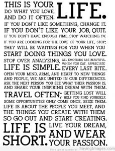 Zitate aus dem Leben