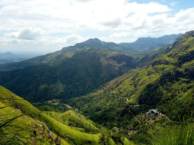 Backpacking in Sri Lanka - Berge
