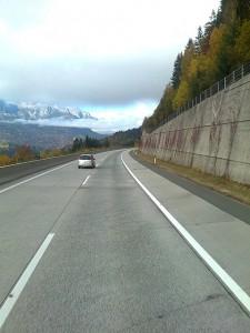 Autobahn in Italien