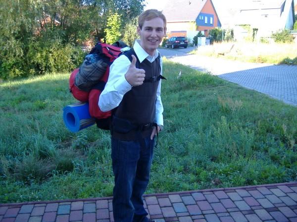 Erster Backpack Trip