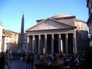 Das Pantheon – Die Sonnenuhr