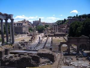 Collosseum un Ruinen in Rom