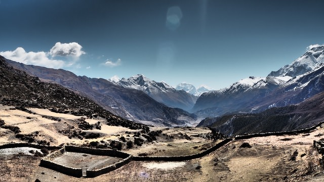 Backpacking in Nepal -Wandern