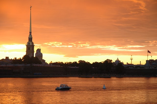 Backpacking in Russland - st petersburg