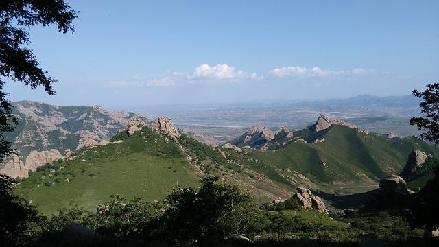 Backpacking in der Mongolei - daqingshan