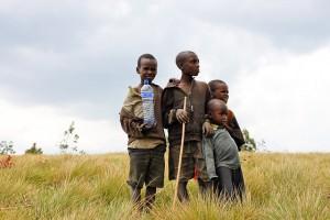 Kinder aus Afrika