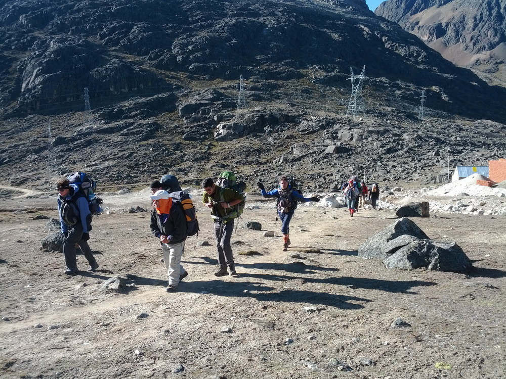 Trekking / Hiking in Bolivien