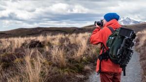 Trekking und Hiking in der Natur