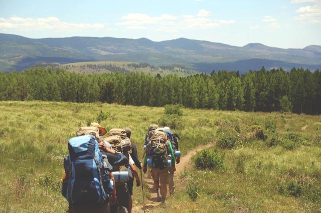Trekking und hiking