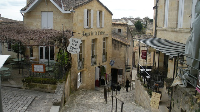 Backpacking in Frankreich - Saint Emilion