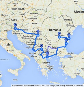 Roadtrip Balkan