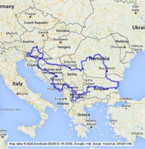 Central Roadtrip Balkan