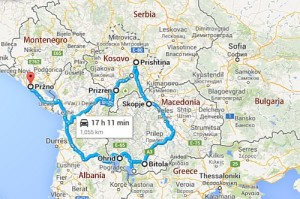 Kleiner Roadtrip Balkan