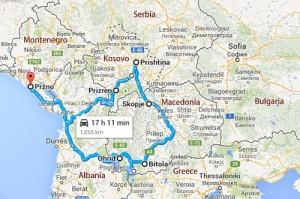 Kleiner Roadtrip Balkan