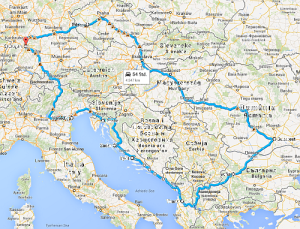 Grosser Roadtrip Balkan