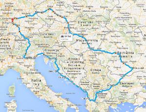 Grosser Roadtrip Balkan