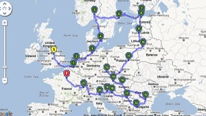 Skandinavian und Central Europa Roadtrip