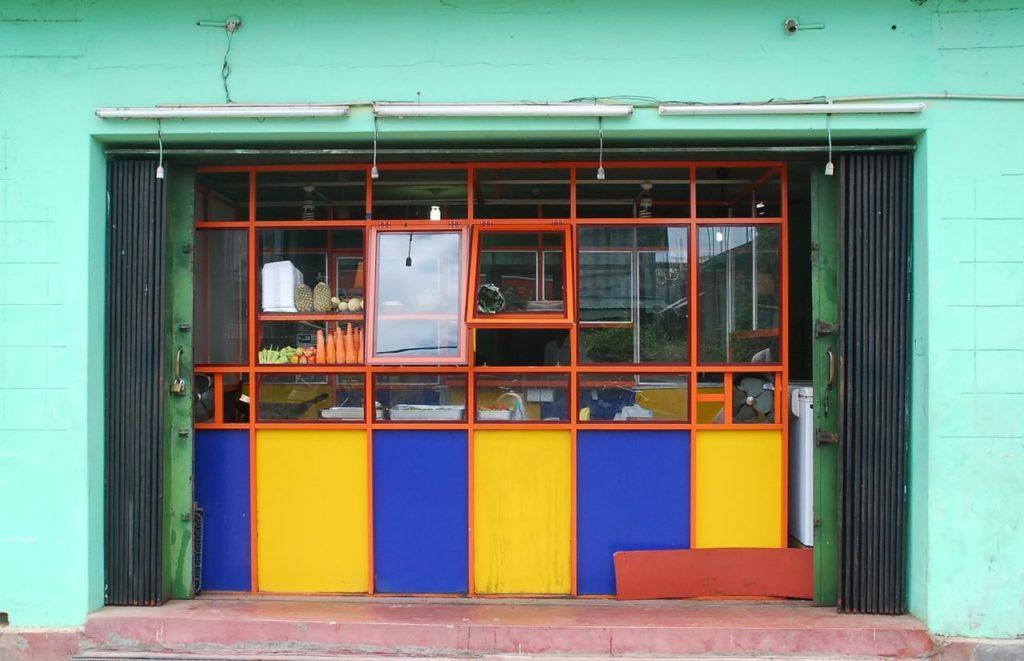 Backpacking auf Kuba - Restaurant