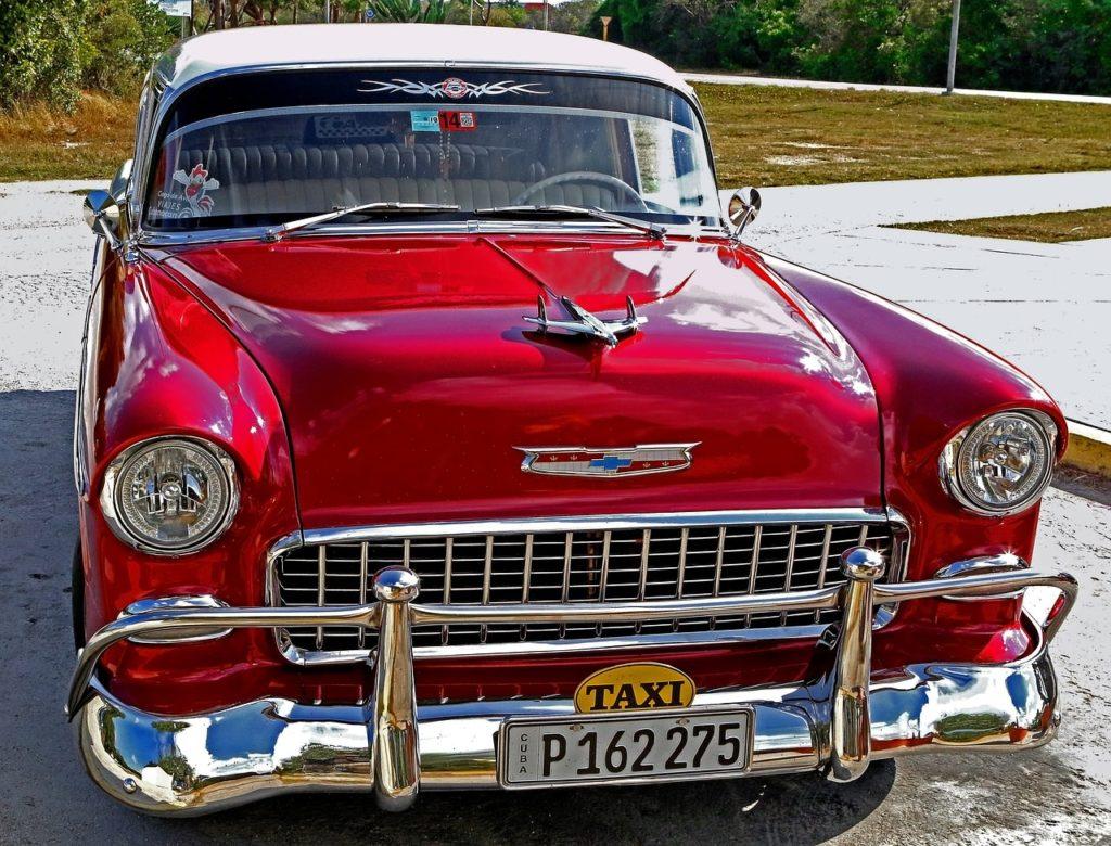 Backpacking auf Kuba - Taxi