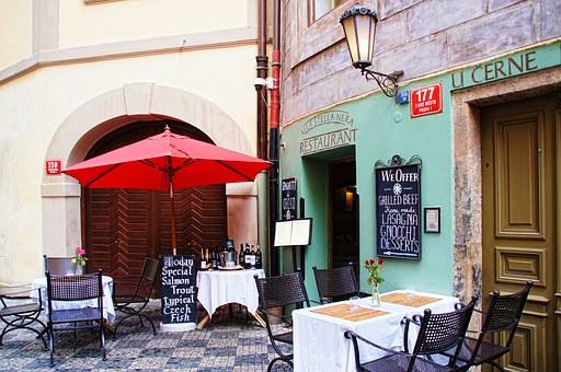 Restaurant in Tschechien