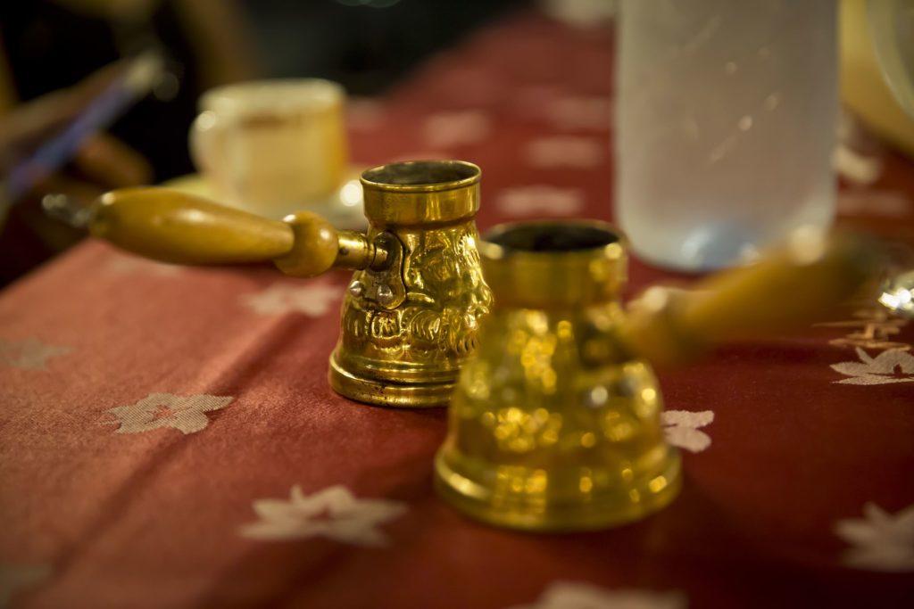 Backpacking im Libanon - Arabischer Kaffee