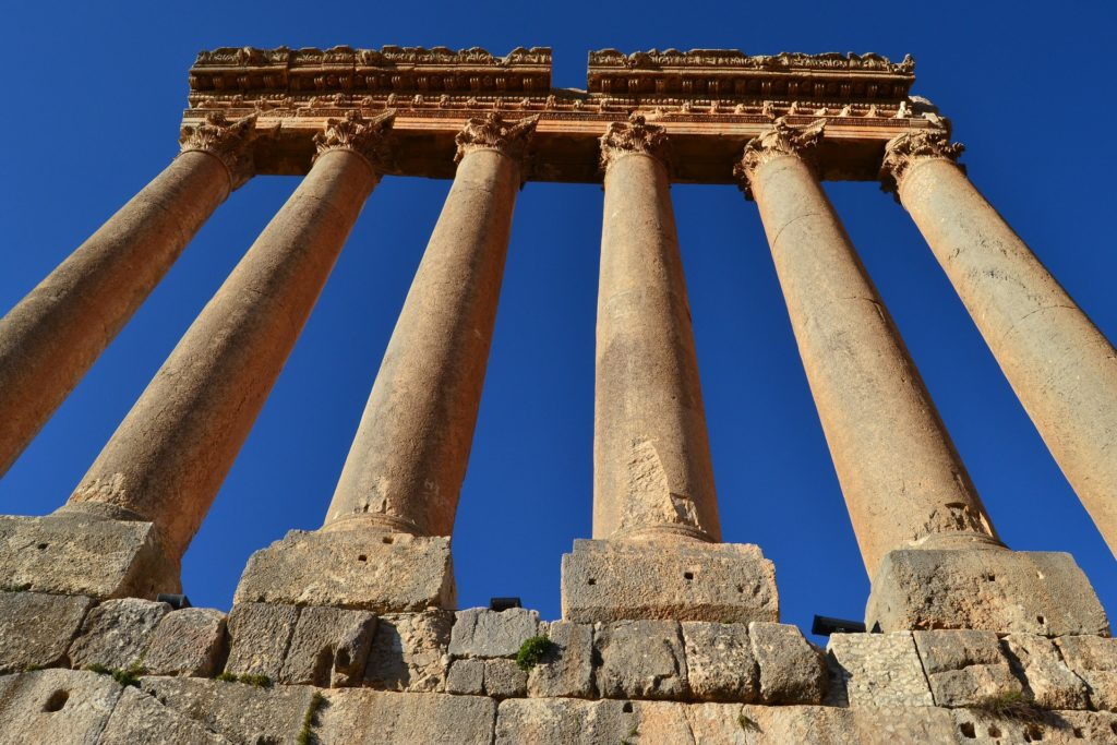 Backpacking im Libanon - Baalbek