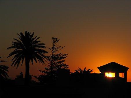 Punta del Este Sonnenuntergang