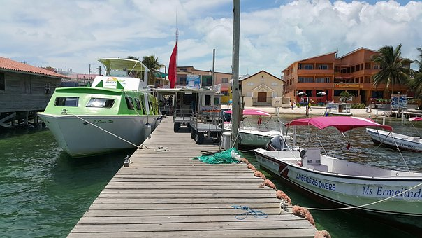 Belize City Wassertaxi
