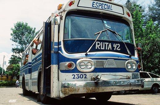 Bus fahren in El Salvador