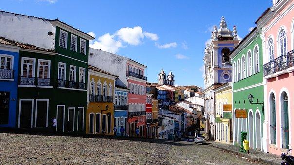 El Salvador Städte im Spiel der Farben