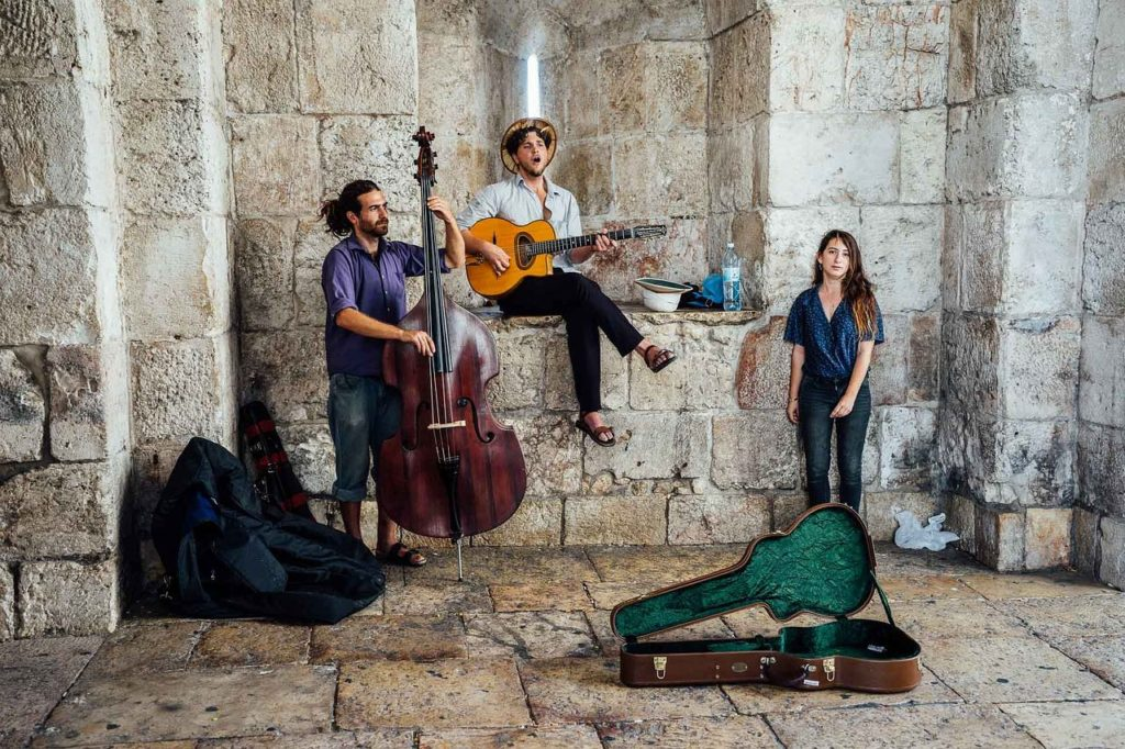 Backpacking Israel - Musikkultur