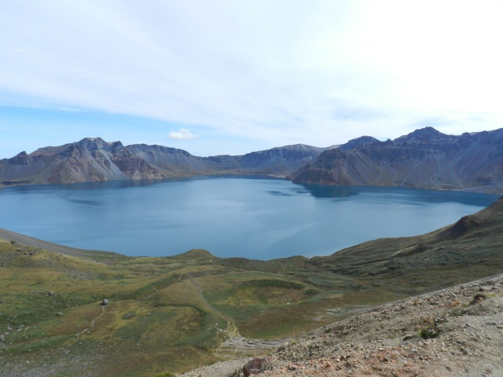 Backpacking Nordkorea - Mt. Paektu