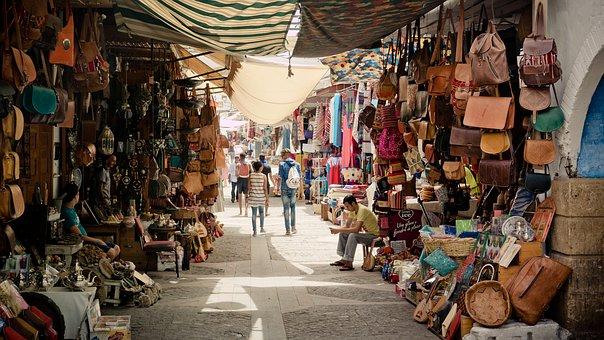 Basar in Rabat