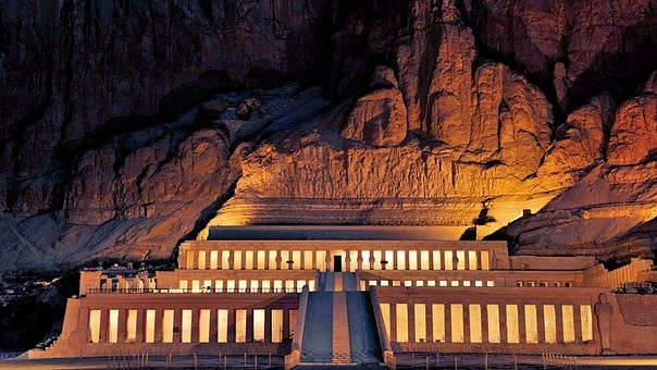 Hathseput Mortuary Ägypten