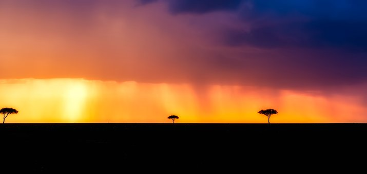 Landschaft in Kenia