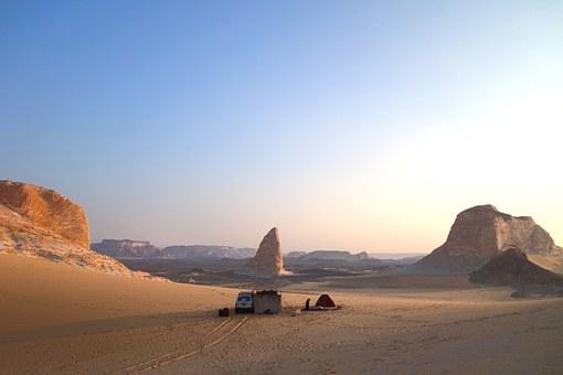 Schwarze Wüste in Ägypten
