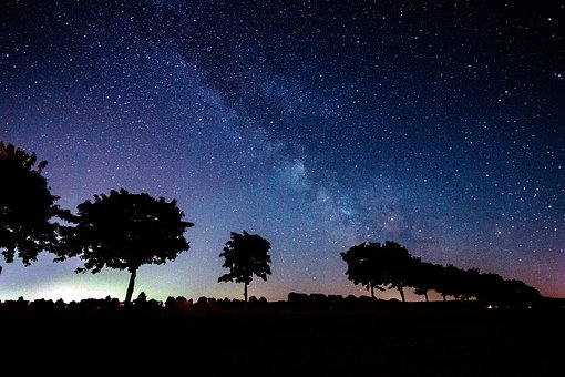 Sternenhimmel über Ägypten