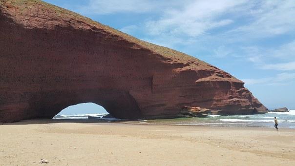 Strandidylle Marokko