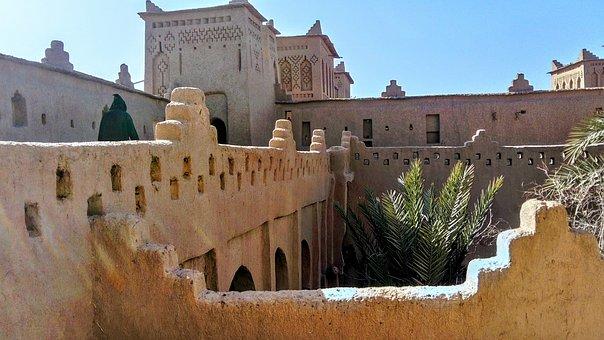 Wüstenstadt in Marokko