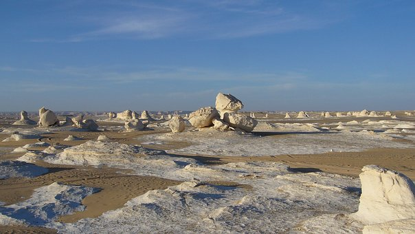 Weiße Wüste in Ägypten