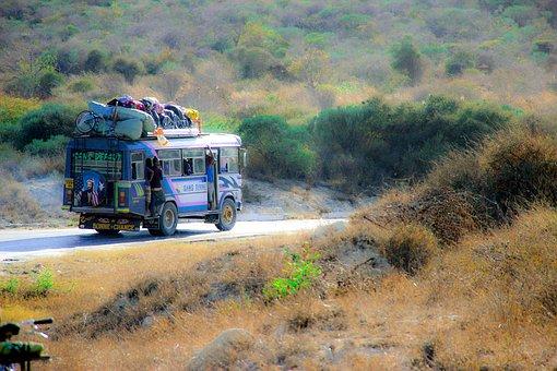 Madagaskar Abenteuer mit dem Bus