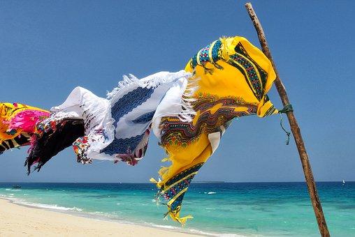 Sansibar Strand und Meer