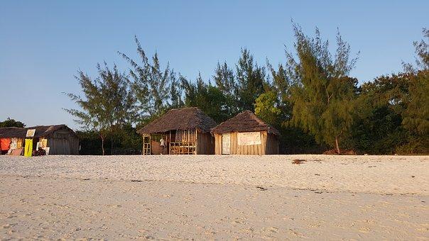 Strandhütten Sansibar