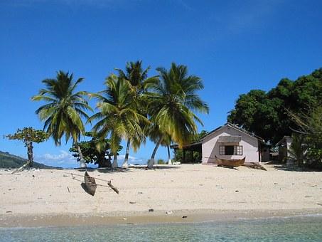 Strandidylle auf Madagaskar